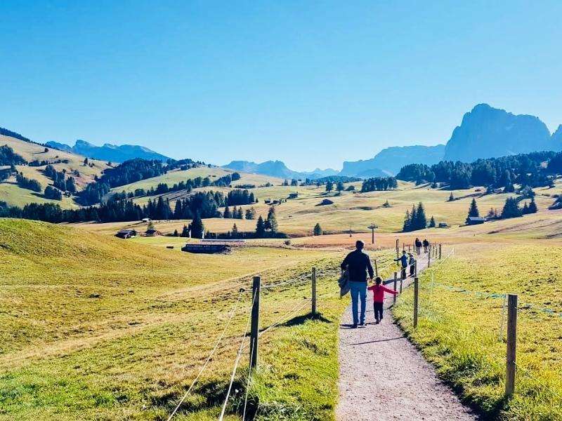 Alpe di Siusi settimana easy-trekking in famiglia in Alto Adige