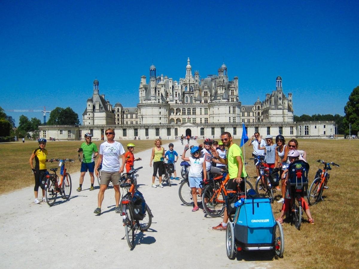 Castelli della Loira in bicicletta con i bambini