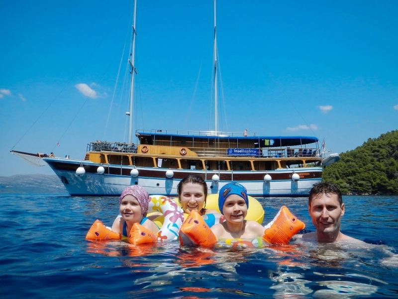 Croazia tour internazionale in bici e barca per famiglie