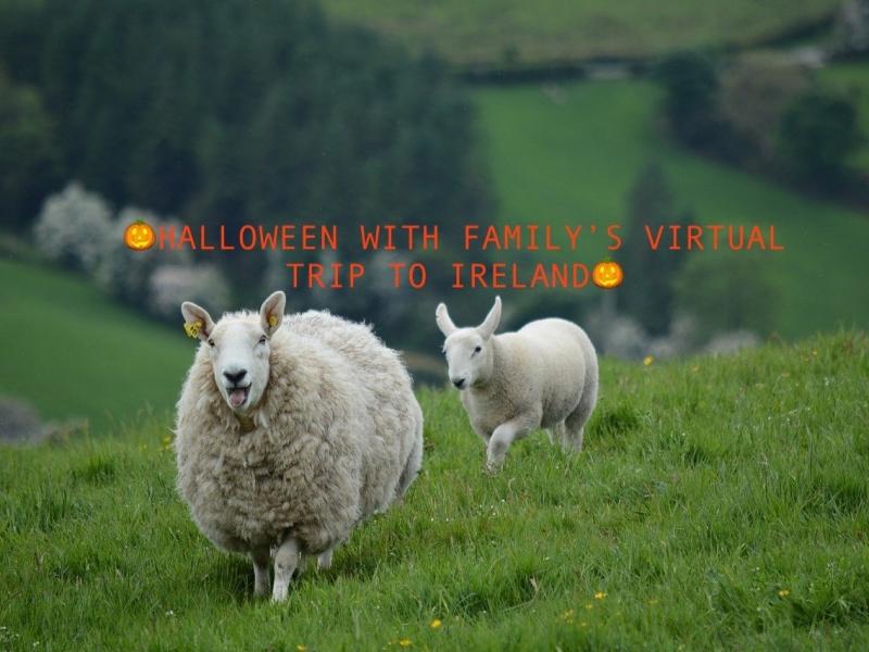 Halloween Virtual Trip in Irlanda con i bambini per imparare linglese