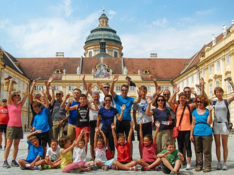 In bicicletta da Linz a Vienna lungo il Danubio con bambini