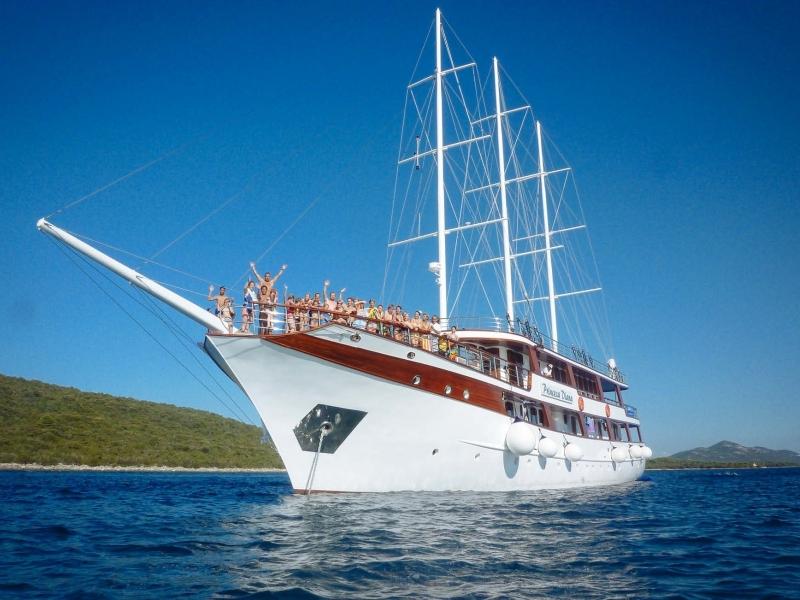 Itinerario in bici e barca in Croazia con bambini