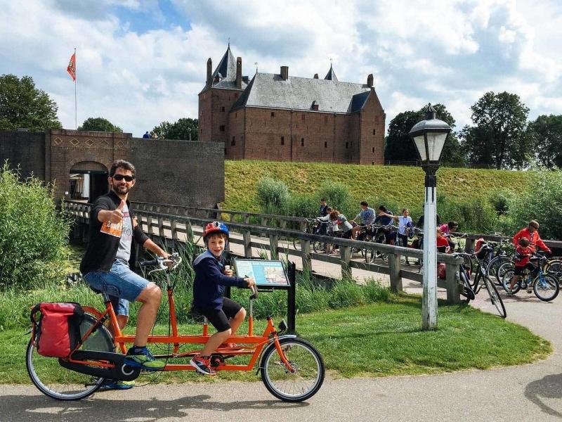 Itinerario in bici e barca in Olanda con i bambini