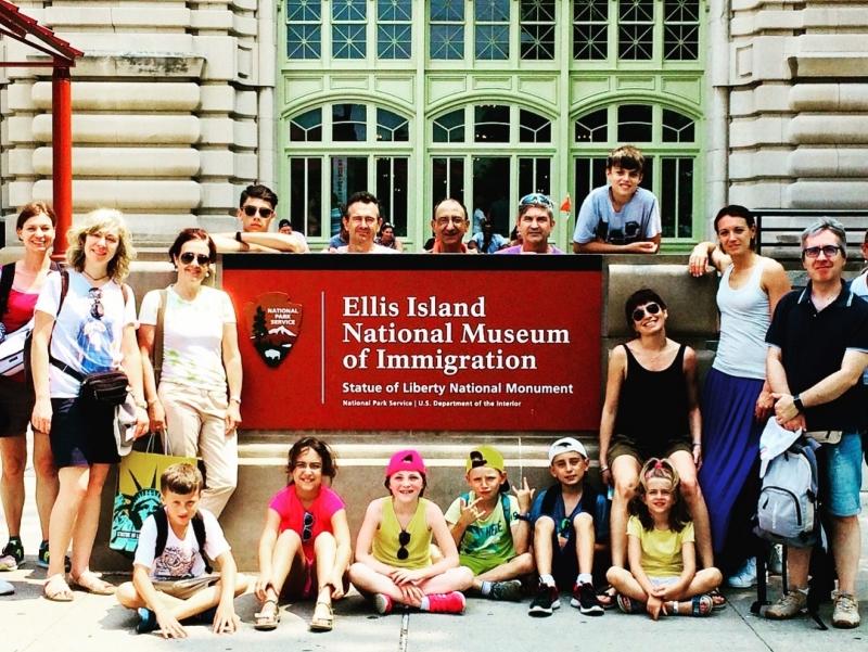 Luglio a New York con i bambini Viaggio di gruppo family