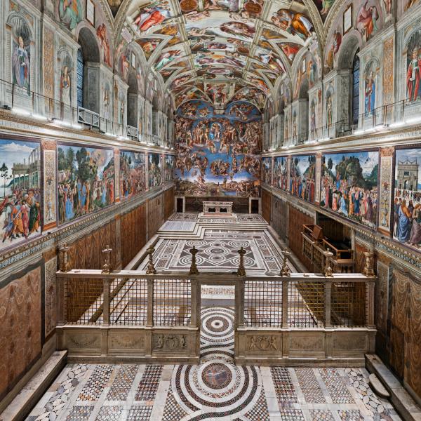musei vaticani tramonto a