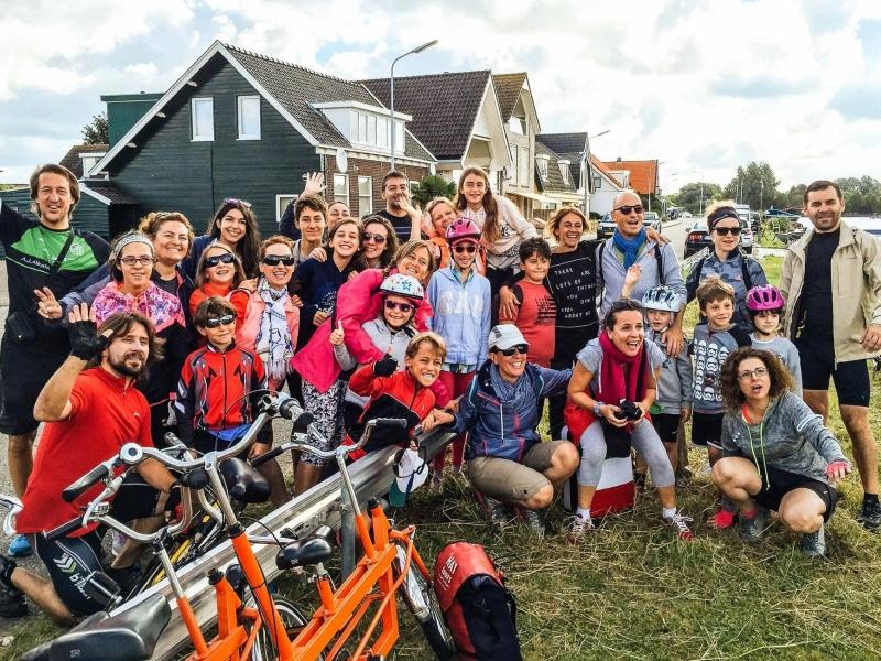 Olanda del sud in bicicletta con i bambini