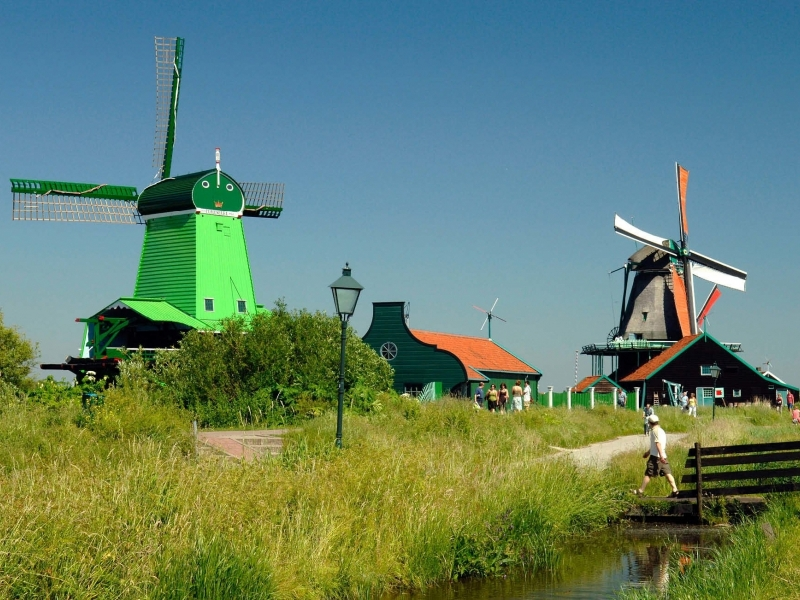 Olanda tour in bici e barca con i bambini