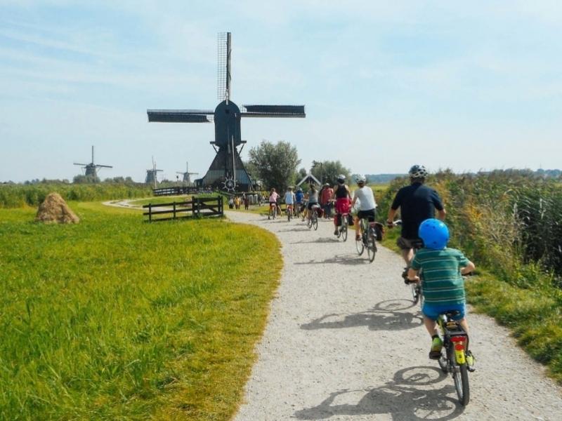 Olanda un viaggio per famiglie in bici e barca