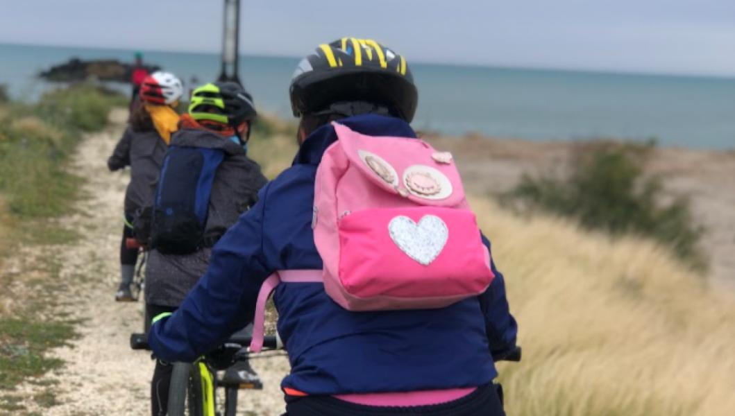 On the road con bambini Bike tour al fiume Simeto