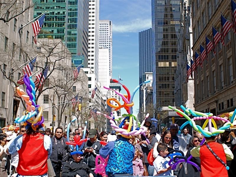 Pasqua a New York con i bambini per la Eastern Bonnet Parade
