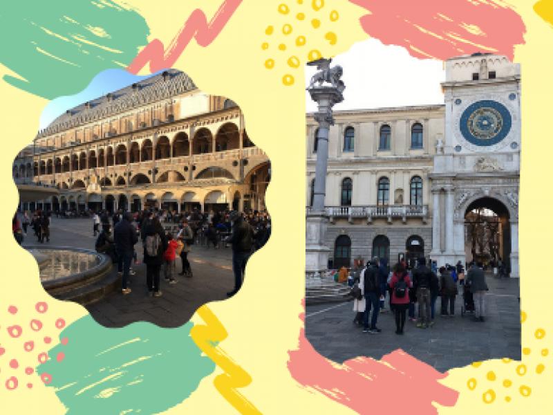 Strambe persone e animali fantastici a Padova con i bambini