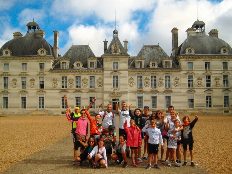 Tour in bicicletta per famiglie in Francia