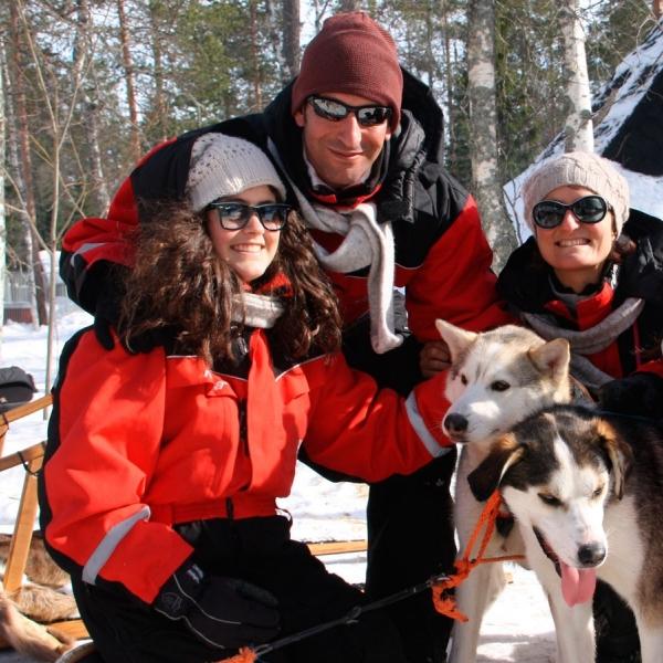 tour gruppo family lapponia