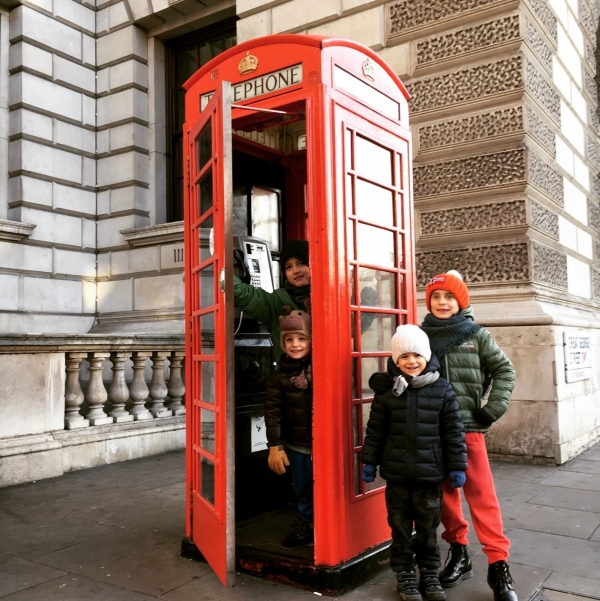 tour londra dedicato bambini