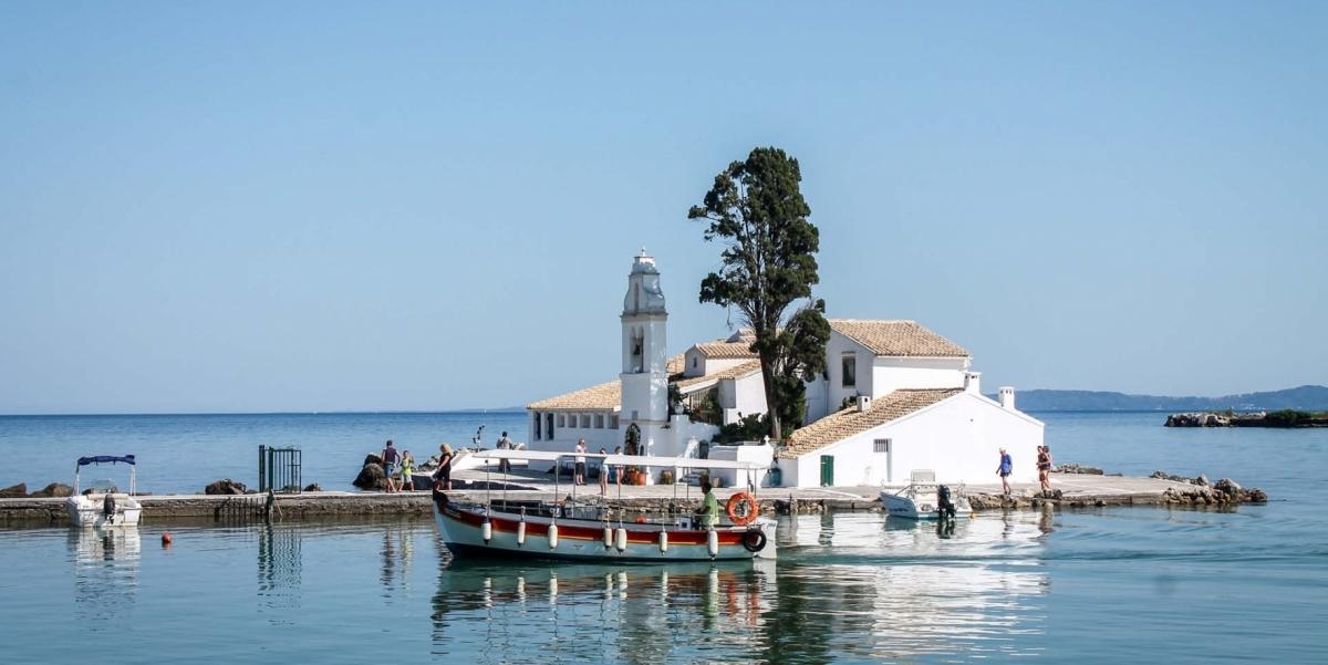 vacanza grecia bambini barca