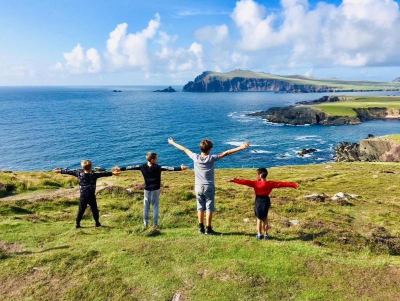 Vacanza studio con i bambini in Irlanda
