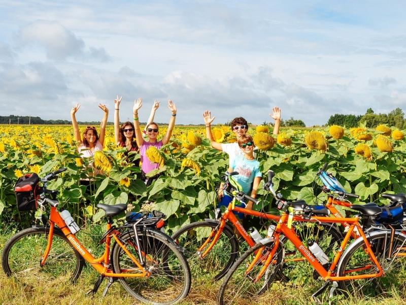 Viaggio in bici per famiglie nella Valle della Loira