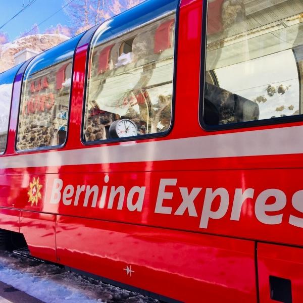 viaggio bordo bernina express