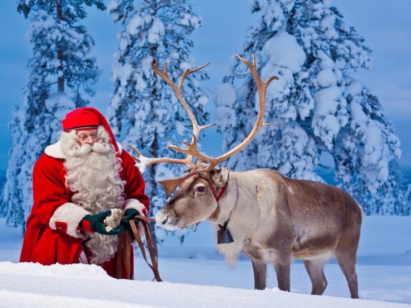Viaggio a Rovaniemi con i bambini per conoscere Babbo Natale
