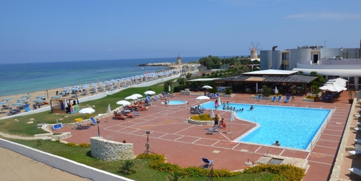 villaggio sicilia erice mare