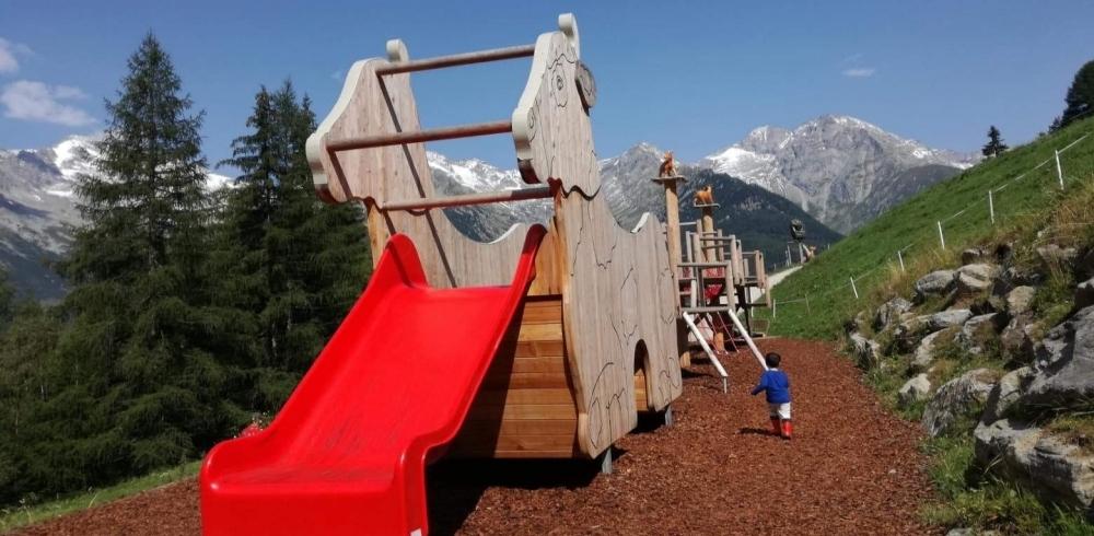 I migliori parchi gioco in montagna da visitare con i bambini
