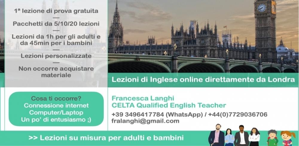 Lezioni di inglese online per bambini direttamente da Londra: il progetto di Francesca e la sua vita di mamma expat a Londra